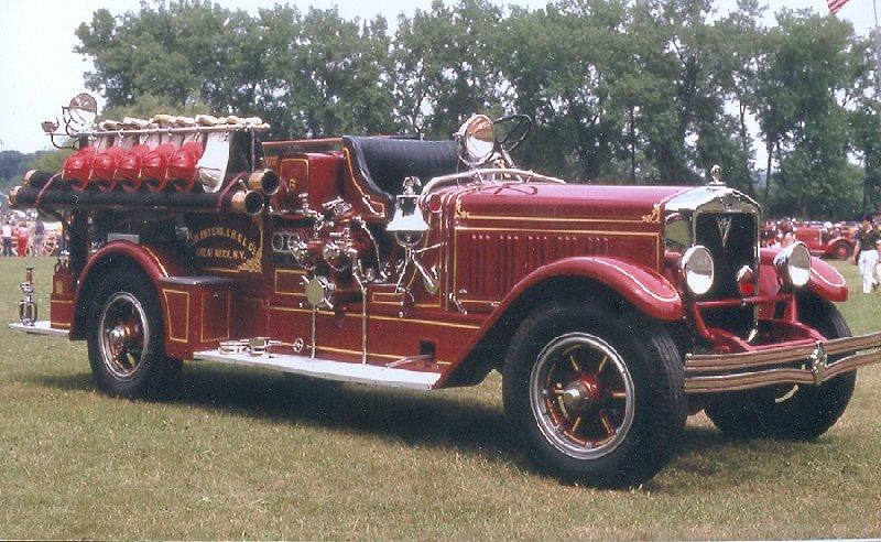 glasstown antique fire brigade